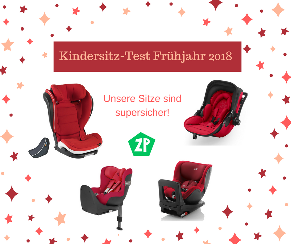 Kindersitz-Test ADAC/Warentest Frühjahr 2018